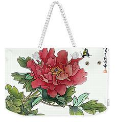 Heavenly Flower Weekender Tote Bag