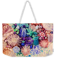 Heavenly Garden Weekender Tote Bag by Samantha Thome