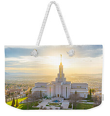 Heavenly Glow Weekender Tote Bag