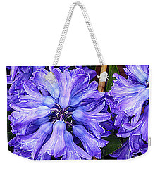 Heavenly Hyacinth Weekender Tote Bag