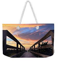 Heavenly  Weekender Tote Bag by LeeAnn Kendall