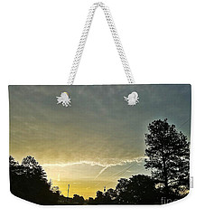 Weekender Tote Bag featuring the photograph Heavenly Morning In Helena by Maria Urso