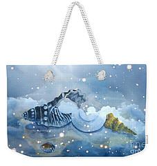 Heavenly Shells Weekender Tote Bag by Leanne Seymour
