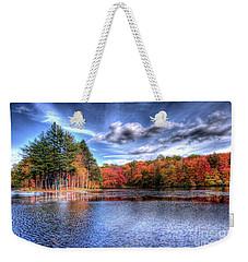 Heaven's Blue Weekender Tote Bag