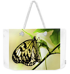 Weekender Tote Bag featuring the photograph Heaven's Door Hath Opened by Karen Wiles
