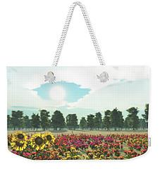 Heavens Eye Weekender Tote Bag