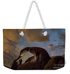 Heaven's Gate Weekender Tote Bag by Alice Cahill