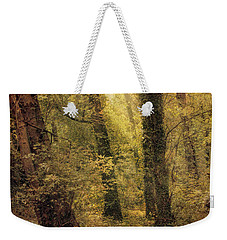 Weekender Tote Bag featuring the photograph Heaven's Glimmer by John Rivera