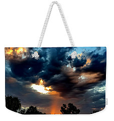 Weekender Tote Bag featuring the photograph Heaven's Paint Brush by Chris Tarpening