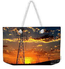 Weekender Tote Bag featuring the photograph Heavens Paintbrush by Chris Tarpening