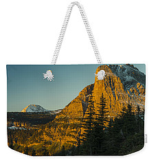 Heavy Runner Mountain Weekender Tote Bag