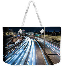 Heavy Traffic Weekender Tote Bag by Randy Scherkenbach