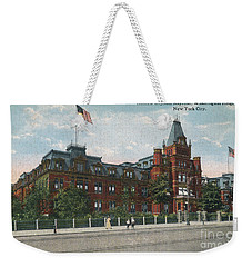 Weekender Tote Bag featuring the photograph Hebrew Orphan Asylum by Cole Thompson