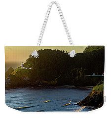 Weekender Tote Bag featuring the photograph Heceta Head Lighthouse by John Hight