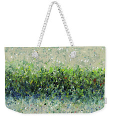 Hedgerow Weekender Tote Bag by Lynne Taetzsch