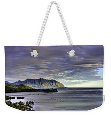 He'eia And Kualoa 2nd Crop Weekender Tote Bag by Dan McManus