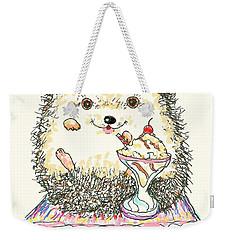 Hedgehog Heaven Weekender Tote Bag