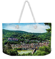 Weekender Tote Bag featuring the photograph Heidelberg Germany by David Morefield