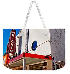 Heights Movie Theater Weekender Tote Bag