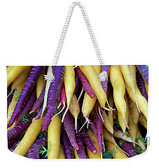 Heirloom Rainbow Carrots Weekender Tote Bag