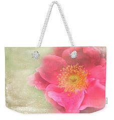 Heirloom Rose Weekender Tote Bag by Catherine Alfidi