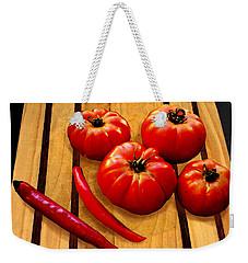 Heirloom Tomatoes Weekender Tote Bag