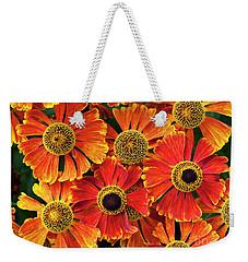 Helenium Waltraut Pattern Weekender Tote Bag
