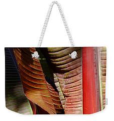 Heliconia Lines Weekender Tote Bag
