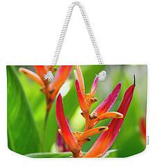 Heliconia Psittacorum Weekender Tote Bag