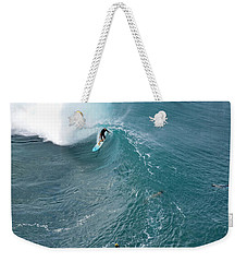 Tubed From Above. Weekender Tote Bag