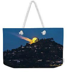 Helix Moon Weekender Tote Bag