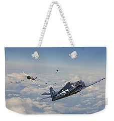 Hellcat F6f - Duel In The Sun Weekender Tote Bag