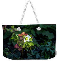 Helleborus From Her Garden Weekender Tote Bag