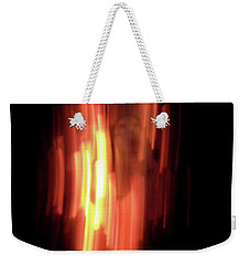 Weekender Tote Bag featuring the photograph Hellfire 001 by Lon Casler Bixby