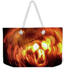 Weekender Tote Bag featuring the photograph Hellfire 002 by Lon Casler Bixby