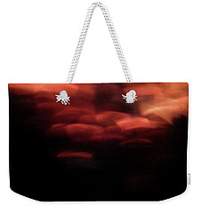 Weekender Tote Bag featuring the photograph Hellfire 003 by Lon Casler Bixby