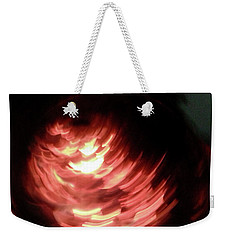 Weekender Tote Bag featuring the photograph Hellfire 004 by Lon Casler Bixby