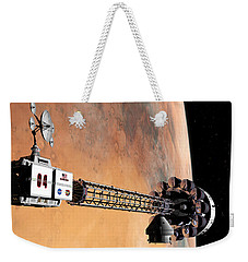 Hello, Huston From Hermes, Do You Read Me Weekender Tote Bag