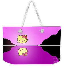 Hello Kitty Sunrise Weekender Tote Bag by George Pedro