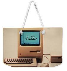 Hello Remember Me Weekender Tote Bag