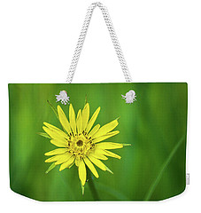 Weekender Tote Bag featuring the photograph Hello Wild Yellow by Bill Pevlor
