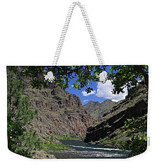 Hells Canyon Snake River Weekender Tote Bag