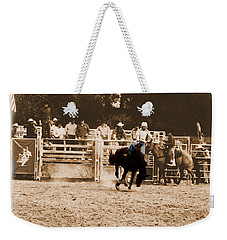 Helluva Rodeo-the Ride 2 Weekender Tote Bag
