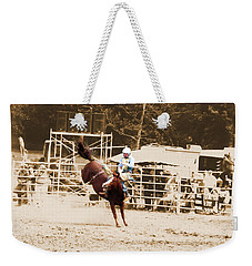 Helluva Rodeo-the Ride 3 Weekender Tote Bag