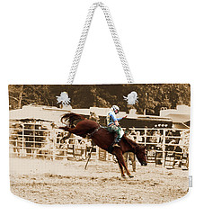 Helluva Rodeo-the Ride 4 Weekender Tote Bag