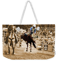 Helluva Rodeo-the Ride 5 Weekender Tote Bag