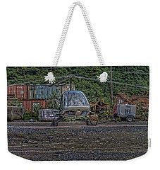 Weekender Tote Bag featuring the photograph Help 4 by Timothy Latta