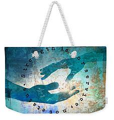Helping Hands Weekender Tote Bag
