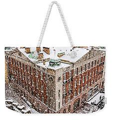 Helsingborg Winter Weekender Tote Bag