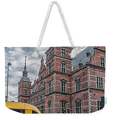 Weekender Tote Bag featuring the photograph Helsingor Train Station by Antony McAulay